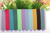 45colors 1250pcs FOE Fold Over Elastic Hair Ties bracelet wristbands for girl ponytail holder Hair Accessory Free Shipping