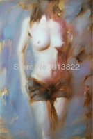 Oil paintings Impression Women Sexy body Home Decor Modern art Improve your room