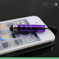 200pcs Wholesale high sensitive Stylus touch Pen For iPhone 5 5s 5c galaxy s4 capacitive Pen for ipad