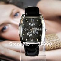 Fashion Men Business Watches Leather Quartz Watch Casual Dress Wristwatches New 2013