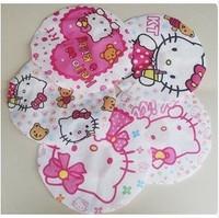 New Arrival Wholesale 30pcs/lot Cute Cartoon Pink Kitty Cat Shower Cap, Waterproof Eco-friend  Bath Cap