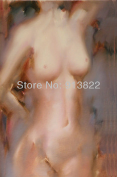 Impression Women Sexy body oil paintings Handmade Modern Furniture accessories