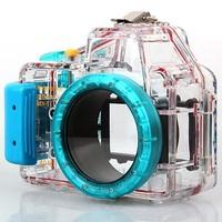 Meikon 40M 130ft Waterproof Underwater Camera Case for Sony NEX-5 W/ 16mm Lens
