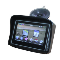 Waterproof Motorcycle GPS - 4.3 Inch Win CE 6.0 Car GPS Navigator - Built-in 4GB Map