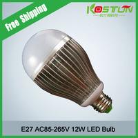6X KOSTON 1200-1600LM Energy Saving LED Lamp 90-265V E27 12W White/WarmWhite LED Bulb Lamp Spotlight Free Shipping