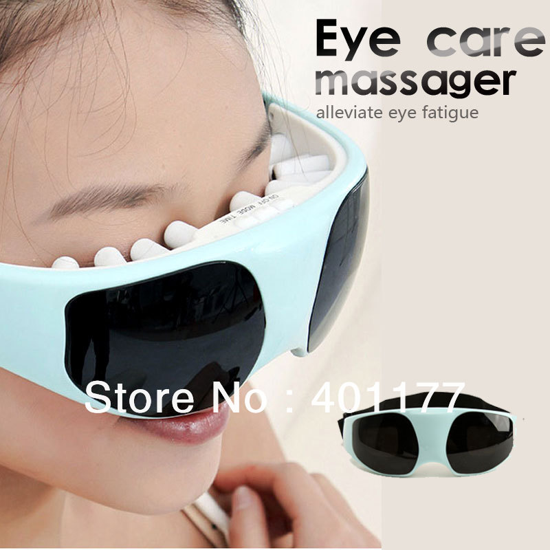 New Mask 3 Use USB Migraine DC Electric and Battery Care Eye Massager with Free shipping(China (Mainland))