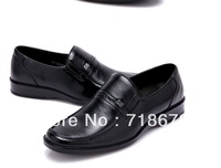 Free shipping 2013 new men, The first layer of leather, Business, Everyday, Casual, skateboard shoes, Wedding party, Dress shoes