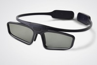 Free shipping, 3d DLP projector 3d glasses active shutter ,3d glass ,3D DLP glass,Shutter 3D Glasses,black,beautiful