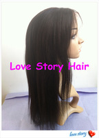 Yaki style with bangs Natural looking lace front wigs 10-24''  in stock full length lace wig 1 1b 2 4