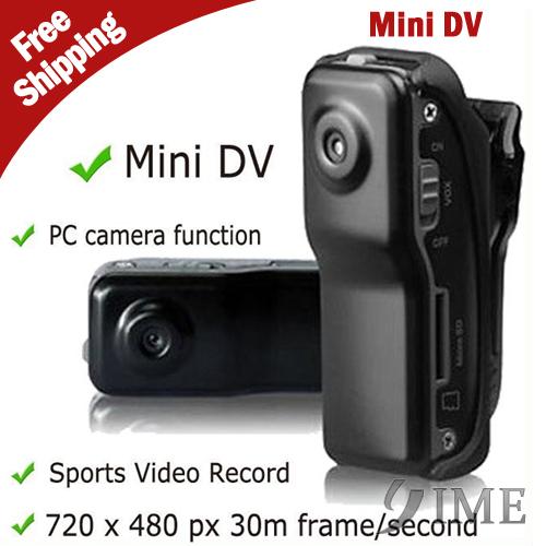 MD80+Bracket+Clip,Black Sports Video Camera Mini DVR Camera & Mini DV Drop Ship With Tracking Number,Free Drop Shipping(China (Mainland))