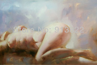 Oil paintings Painted by hand Sexy Beauty Women Body improve your Home Gifts