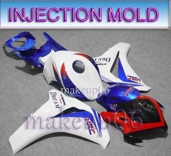 white blue INJ CBR1000RR 08 09 INJECTION MOLDING CBR1000 RR 2008 2009 Body Kit Fairing for Honda CBR1000RR CBR 1000 RR Fireblade
