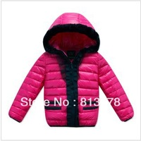 2013 new arrival British style baby boy girl children down coat small children's clothing winter child down outerwear