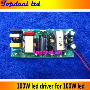100W LED Power Supply Driver 100W For 100Watt High power LED Light Lamp Bulb 85-265VAC input