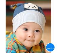 Wholesale Cartoon panda pocket baby hat child knitted hat newborn cap