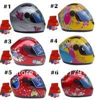 Kids Helmet Child boy girl Top quality motorcycle full face helmet + Free Shipping