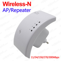Free Shipping 802.11N/B/G Network Repeater Range Expander 300M 2dBi Antennas Signal Boosters Wireless-N Wifi Roter Repeater
