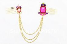 cheap crystal hair jewelry
