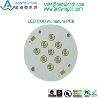 manufacture pcb aluminium plate for LED lighting,OEM ODM