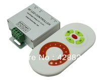5Keys Wireless Dimmer Single color RF Touch Controller  8Ax1Channel for Low voltage Strips,Spotlights,Downlights
