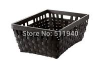 1 piece 38x29x16cm solid poplar knit storage basket