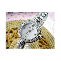Korean female models diamond ring diamond elite upscale lady watch wholesale