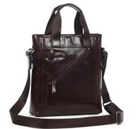 2013 Bags male cross body shoulder bags casual totes handbag fashion genuine leather bag for men low price bag 90016-3