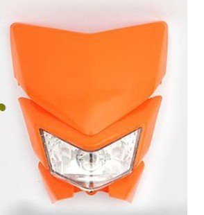 latest Dirt bike Motorcycle Universal Vision Headlight as kawasaki KLX450 Factory Outlet Variety of colors