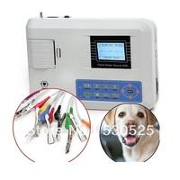 NEW CONTEC VET Veterinary One Single Channel ECG/EKG Machine Electrocardio 100G
