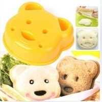 Little Bear Shape Sandwich Bread Cake Mold Maker DIY Mold Cutter Craft  #H0210