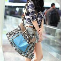 2014 New Fashion Vintage Embroidery Printed Women Handbags/Brand PU Leather Women Shoulder Bags/Casual Handbags Women