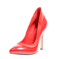 new arrive fashion  high heel 14cm  Pure  pointed toe women shoes Boat shoes  red size 35-42