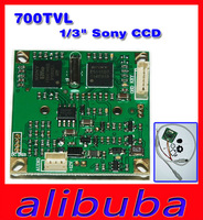 "700TVL 1/3"" Sony HD CCD Sensor Color Board Camera PAL NTSC with Lens Effio-E"