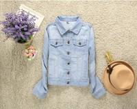 coat jackets women autumn -summer jacket new 2014 jacket is the autumn plus size clothes women cardigan coats denim jacket