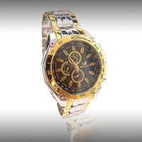 Hot Sale Fashion Men watch Black Stainless Steel Quartz watches Wrist Watch Wholesale RO-11