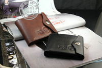 2013 New purse wallet for men hot sale 2013 Men's casual suction buckle leather wallet men wallets leather man purse wallet clip