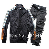 thailand quality Champions League soccer jackets  Blank Jackets Sweatshirt coat soccer pants training soccer uniforms 2014