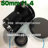 L50mm f1.4 C mount CCTV Lens for GF1 GH1 G1 EP1 EP2 EPL1& NEX-3 NEX-5 NEX-C3 DEC1214 Free Shipping