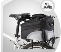 Cycling mountain bike ride rear rack bags bags Bags Camera Bags