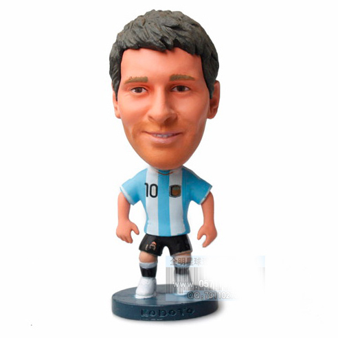 MESSI Football Star Doll figure Football star Doll Fans supplies soccer star doll(China (Mainland))