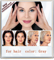 INSTANT FACELIFT AND NECKLIFT FACE NECK LIFT TAPES , for hair  color-Gray