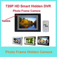 Free Shipping 720P HD Photo Frame Smart  Camera  / Hidden Photo Frame Camera with 8 hours backup battery for recording