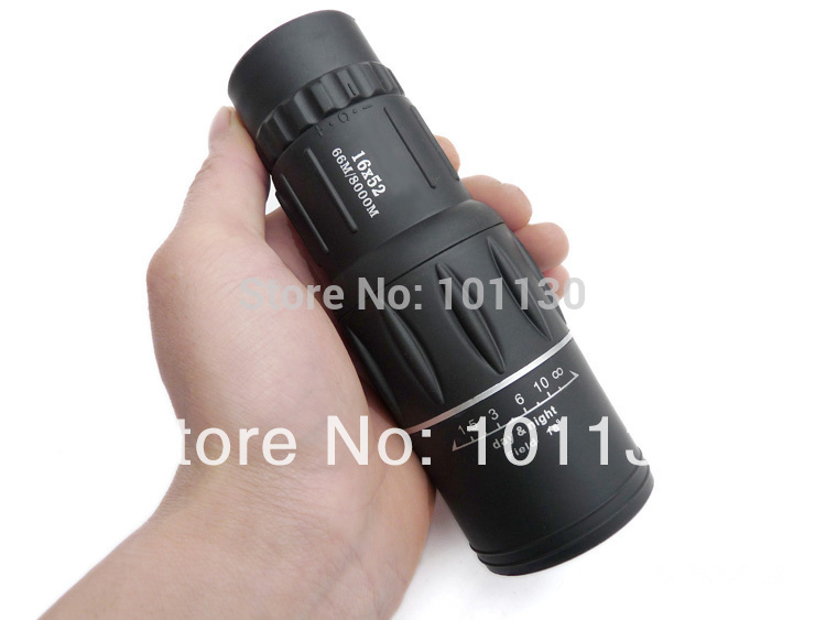 New Generation Dual Focus! 16x Zoom In 66M/8000M Field Monocular Telescope Sports Hunting Concert Spotting Scope with Green Film(China (Mainland))