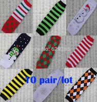 10 pairs Unisex infant kneepad leggings  baby boy / girl socks children Christmas Kneepad Leg Warmers Warm free shipping