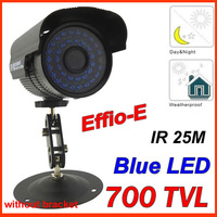36 blue leds IR HD 960H Surveillance Security waterproof Outdoor CCTV bullet Camera EFFIO-E 700TVL SONY CCD+free shipping