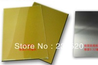 Polymer Plate with metal base for hot foil stamping cliche making , A4 size