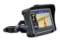 Raged Waterproof Motorcycle GPS - 4.3 inch Resistive Touch Display Win CE 6.0 GPS Navigator  Bluetooth