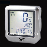 Free Shipping +The New Code Table YS618 Extreme Waterproof Luminous Bike Speed / Distance / Temperature Cycle Computer Odometer