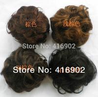 new fashion ladies'  wavy human hair Chignon / big  bun hair chignon color selectable