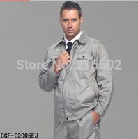 FREE SHIPPING Long-sleeve workwear work wear set male work wear long-sleeve protective clothing work wear